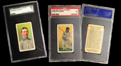 1909 E95 Philadelphia Caramel Baseball Cards