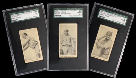 1909-10 E97-2 C.A. Briggs (B&W) Baseball Cards