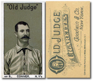 1886 N167 Old Judge Baseball Cards