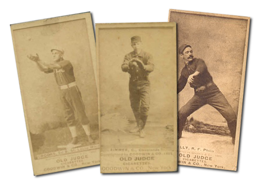 1887-90 N172 Old Judge Baseball Cards