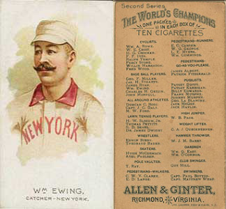 1889 N29 Allen & Ginter Baseball Cards