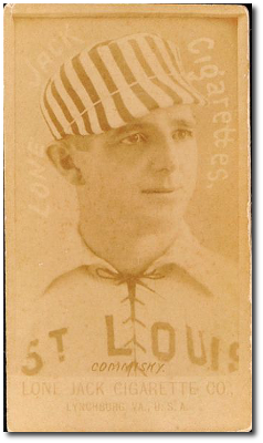 1887 N370 Lone Jack St. Louis Browns Baseball Cards