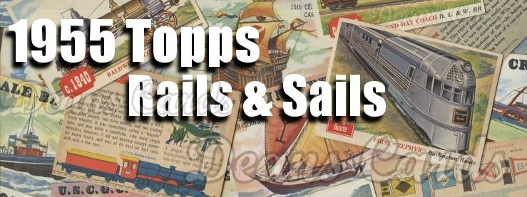1955 Topps Rails and Sails