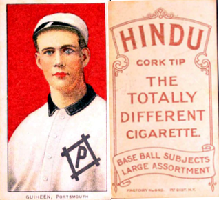 1909-11 T206 Brown Hindu Back Baseball Cards