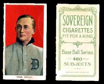 1909-11 T206 Sovereign Back Baseball Cards