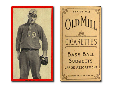 1910 T210-3 Old Mill Texas League Series 3 Baseball Cards