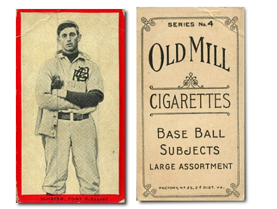 1910 T210-4 Old Mill Virginia Valley League Series 4 Baseball Cards