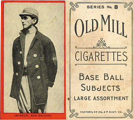 1910 T210-8 Old Mill Southern League Series 8 Baseball Cards
