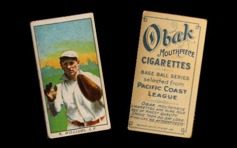 1909 T212-1 Obak Baseball Cards