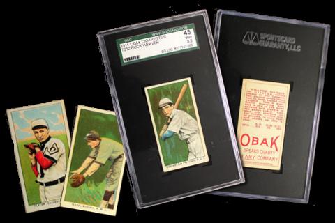 1911 T212-3 Obak Baseball Cards