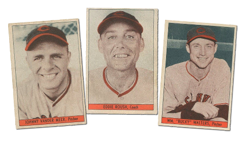 1938-39 W711 Cincinnati Reds Team Issue Baseball Cards