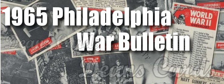 1965 Philadelphia War Bulletin