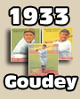 1933 Goudey Baseball