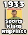 1933 Sports Kings Baseball