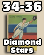 1934-36 Diamond Stars Baseball