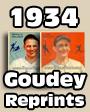 1934 Goudey Baseball