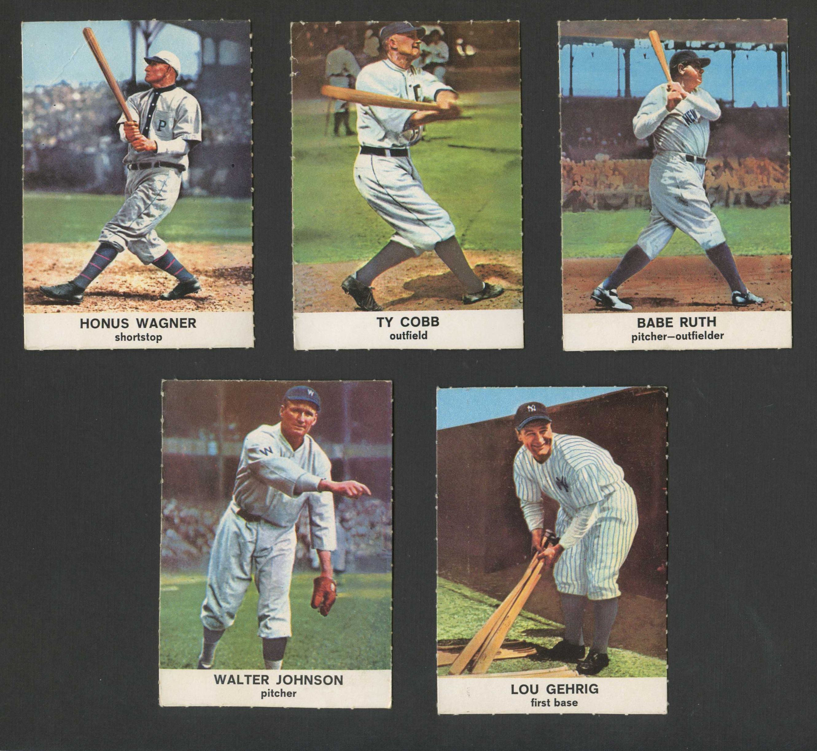1961 Golden Press    Baseball Complete Set