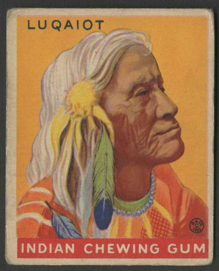 1933 Goudey Indian Gum    Near Complete Set (147/216 Cards)