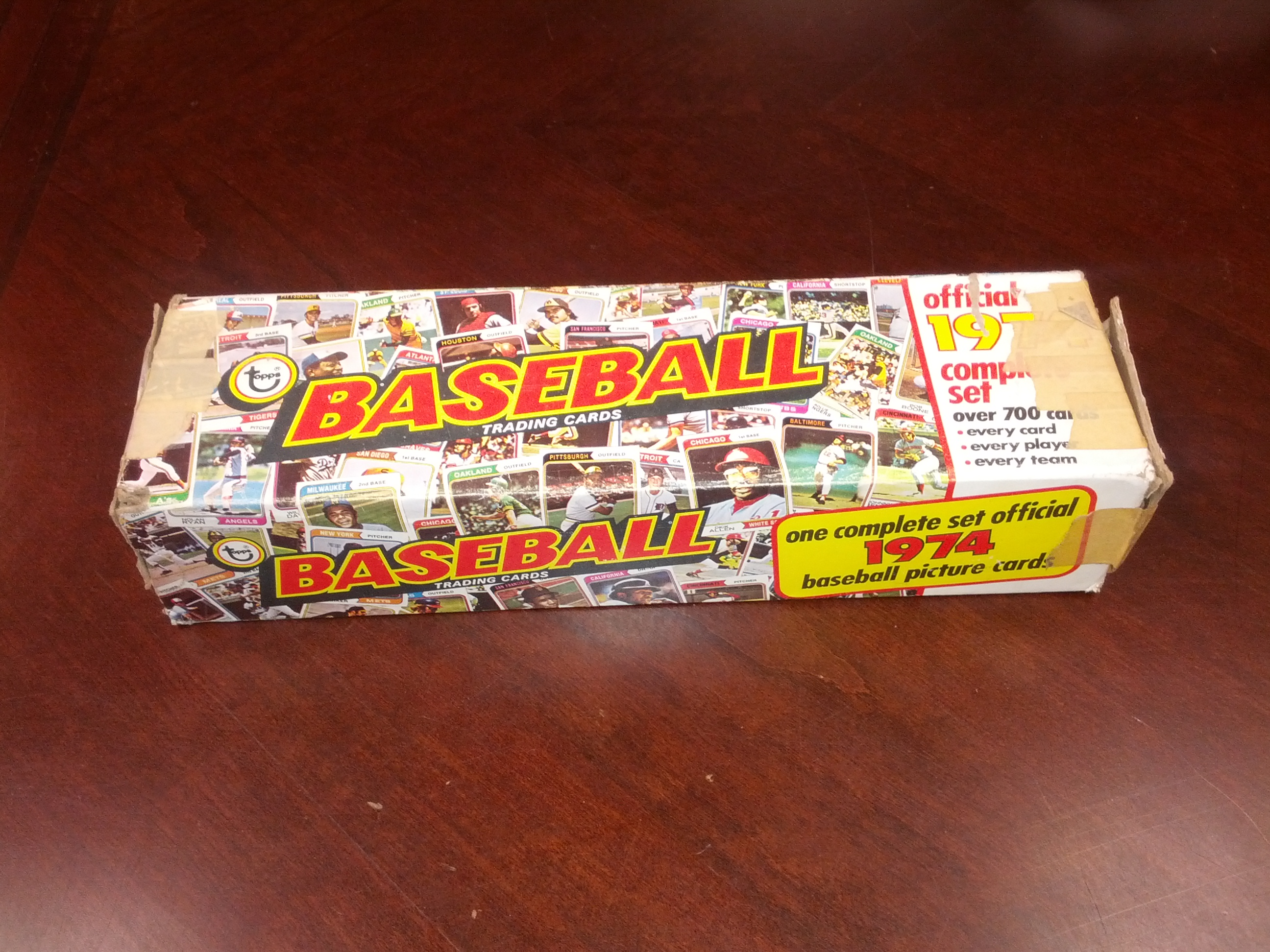 1974 Topps    Baseball Factory Complete Set w/Traded