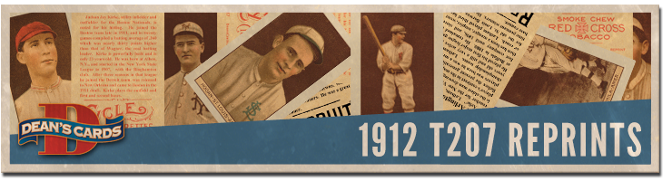 1912 T207 Brown Background Reprints