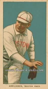 1909 T206 Reprints #11   Frank Arellanes