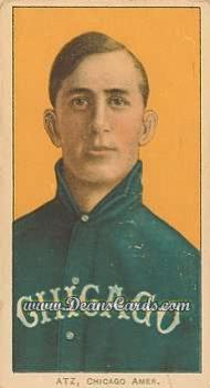 1909 T206 Reprints #14   Jake Atz
