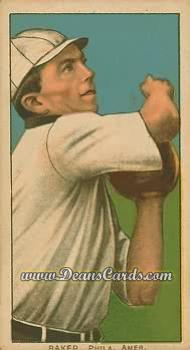 1909 T206 Reprints #15   Home Run Baker