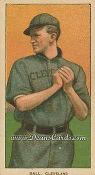 1909 T206 Reprints #16 CLE Neal Ball