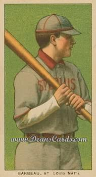 1909 T206 Reprints #18  Jap Barbeau