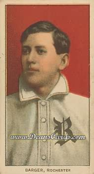 1909 T206 Reprints #19  Cy Barger