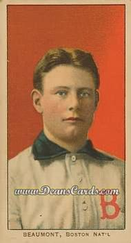 1909 T206 Reprints #26   Ginger Beaumont