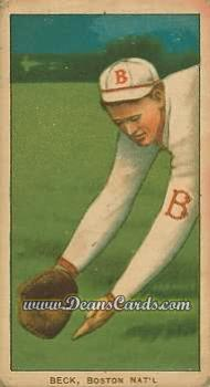 1909 T206 Reprints #27   Fred Beck