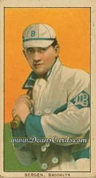 1909 T206 Reprints #35   Bill Bergen