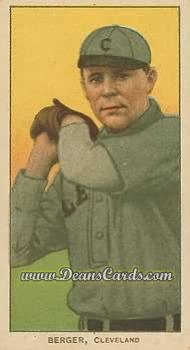 1909 T206 Reprints #37   Heinie Berger