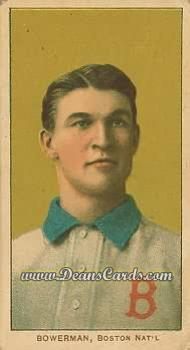 1909 T206 Reprints #44   Frank Bowerman