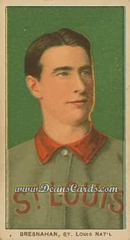 1909 T206 Reprints #51   Roger Bresnahan Portrait