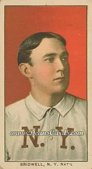 1909 T206 Reprints #53   Al Bridwell No Cap