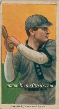 1909 T206 Reprints #77   Frank Chance