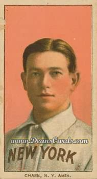 1909 T206 Reprints #85 PNK Hal Chase