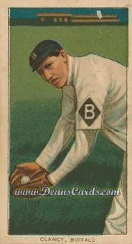 1909 T206 Reprints #89   Bill Clancey