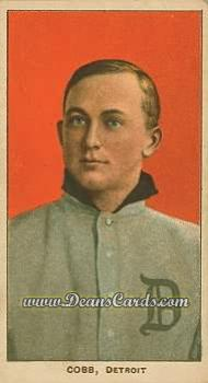 # 98 Ty Cobb Portrait Red - T206 REPRINT