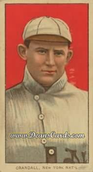 # 107 Doc Crandall with Cap - T206 REPRINT