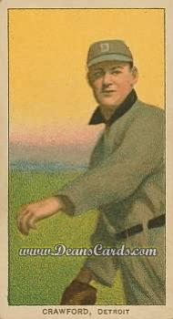 # 110 Sam Crawford Throwing - T206 REPRINT