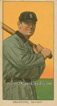 1909 T206 Reprints #111 BAT Sam Crawford