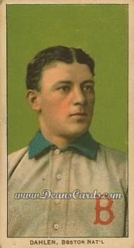 1909 T206 Reprints #116   Bill Dahlen