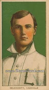 1909 T206 Reprints #122   Frank Delahanty