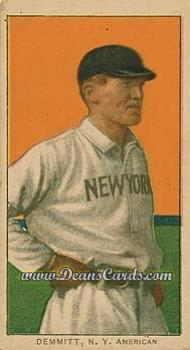 # 124 Ray Demmitt New York - T206 REPRINT