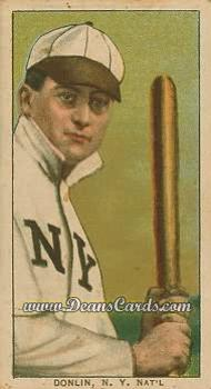 # 132 Mike Donlin with Bat - T206 REPRINT