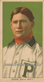 1909 T206 Reprints #136   Red Dooin