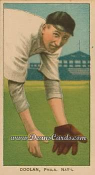 1909 T206 Reprints #138   Mickey Doolan